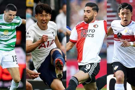 3 ایرانی نامزد بهترین لژیونر هفته فوتبال آسیا